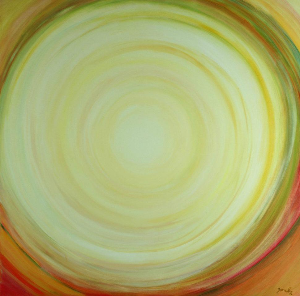 """Moderní abstraktní obraz """"Hezky"""""""