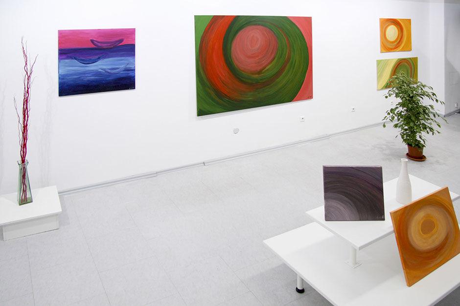 Moderní abstraktní obrazy Jane H. - výstava
