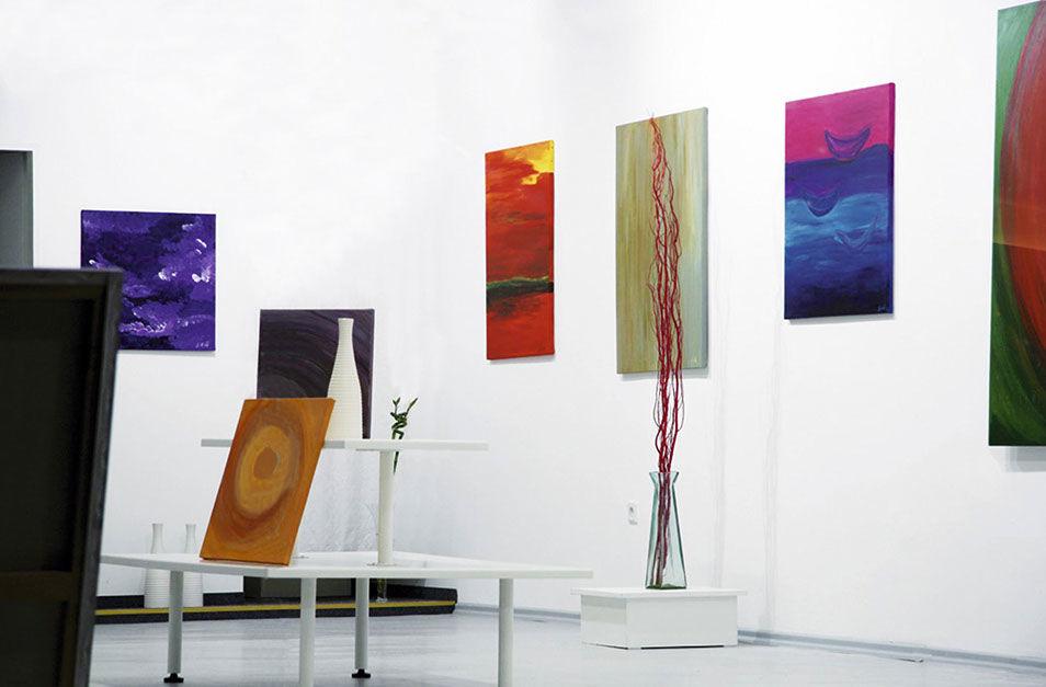 Moderní obrazy Jane H. - výstava