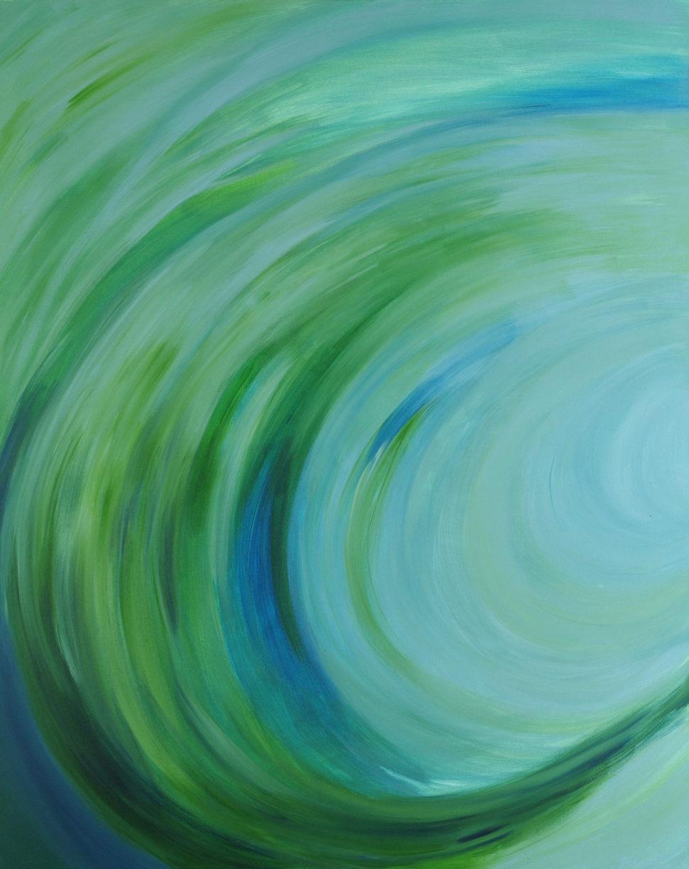 """Moderní abstraktní obraz """"Relax"""""""