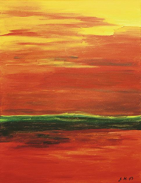"""Moderní abstraktní obraz """"bez názvu"""""""