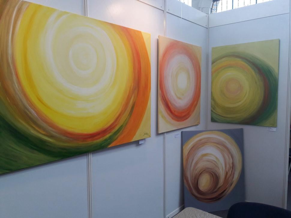 Art fest, Holešovice - výstava abstraktních obrazů Jane H.
