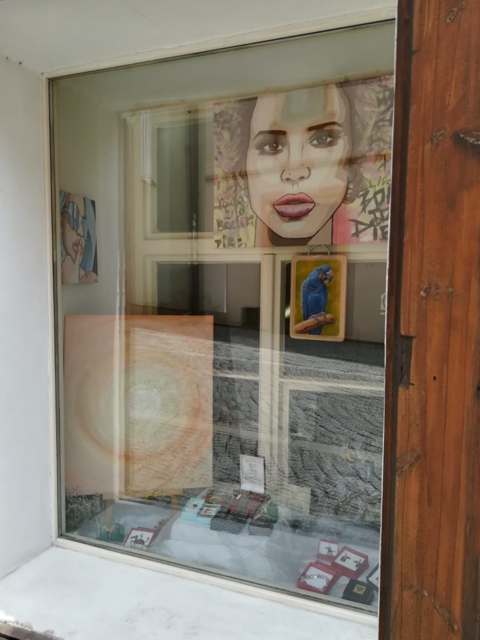 Výstava abstraktních obrazů Jane H. - Galerie Supice, Tábor