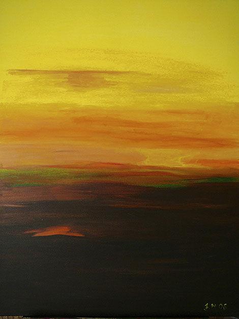"""Moderní abstraktní obraz Jane H . zcyklu """"Osobní obrazy"""" - Uzemnění vN.Y."""