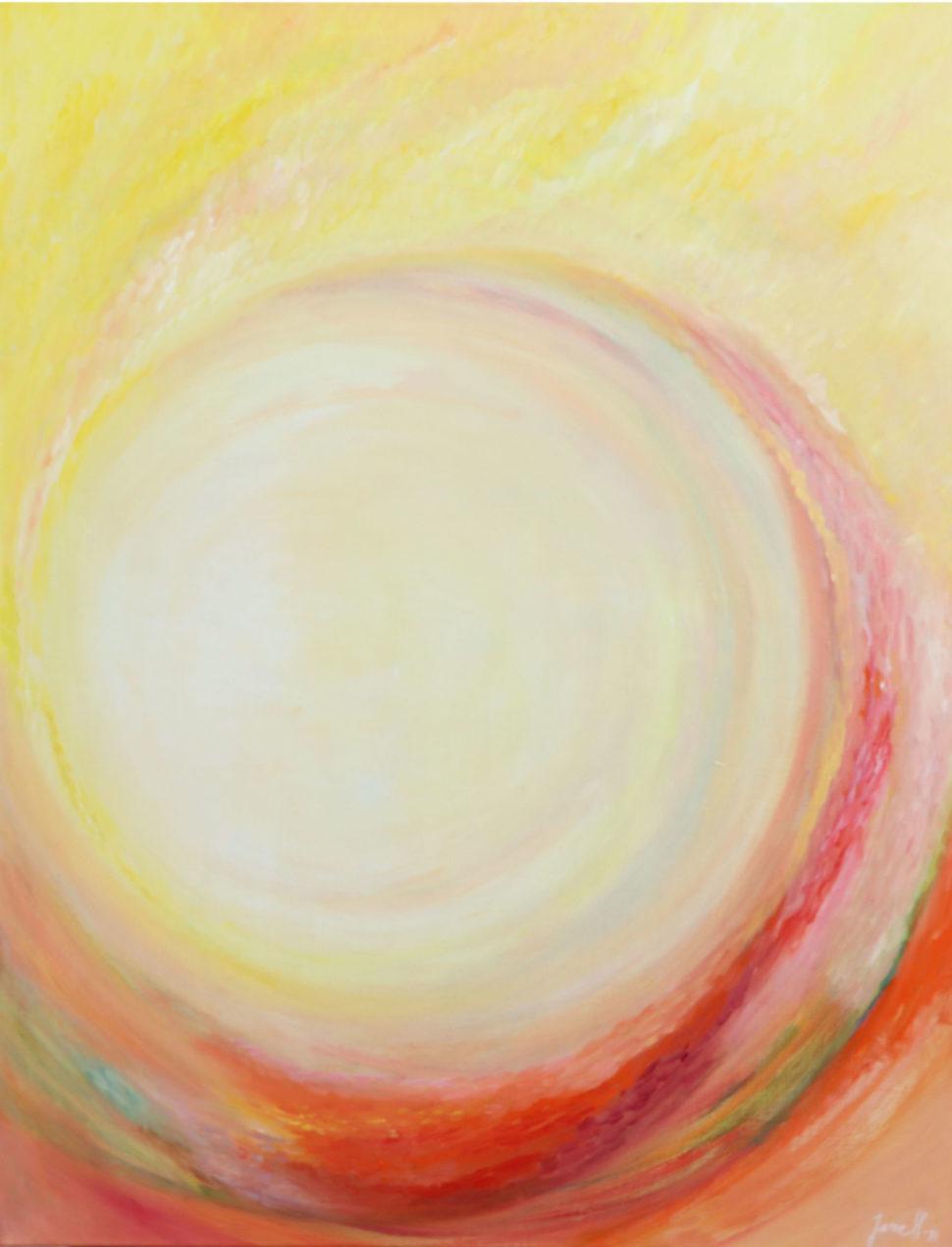 """Moderní abstraktní obraz """"Zrození"""""""