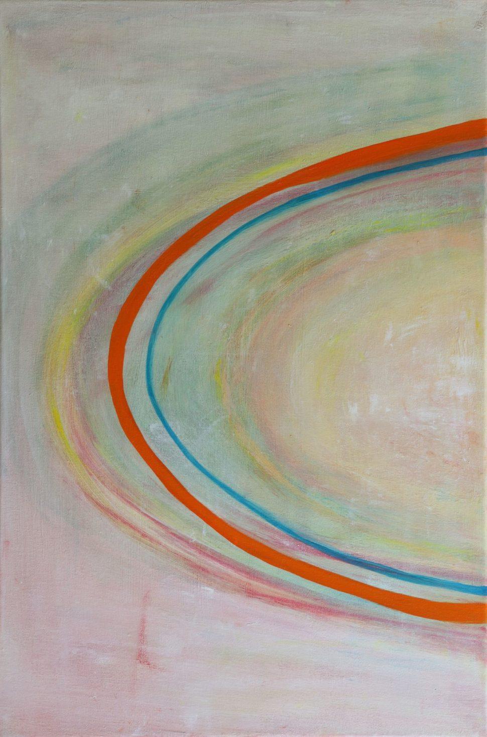 """Moderní abstraktní obraz """"Trojice"""" - detail2"""