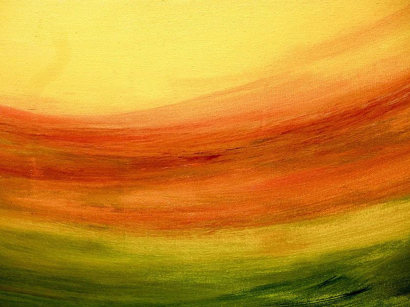 """Moderní abstraktní obraz """"Plno energie"""" - detail"""